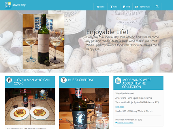 Another wine lover blog is here!
