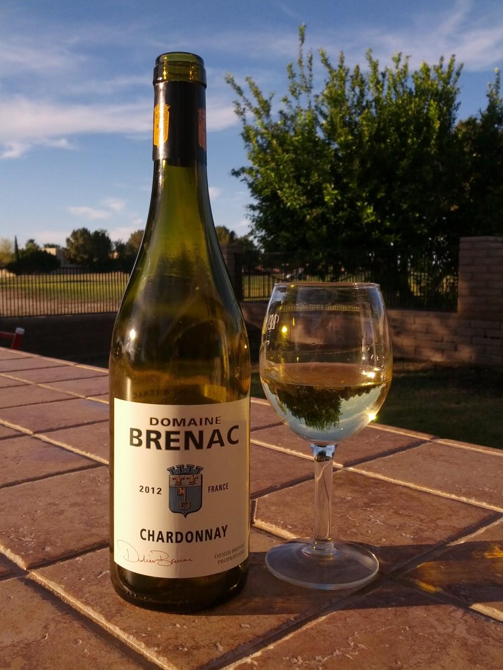 2012 Domaine Brenac Chardonnay, Vin de Pays d'Oc, France
