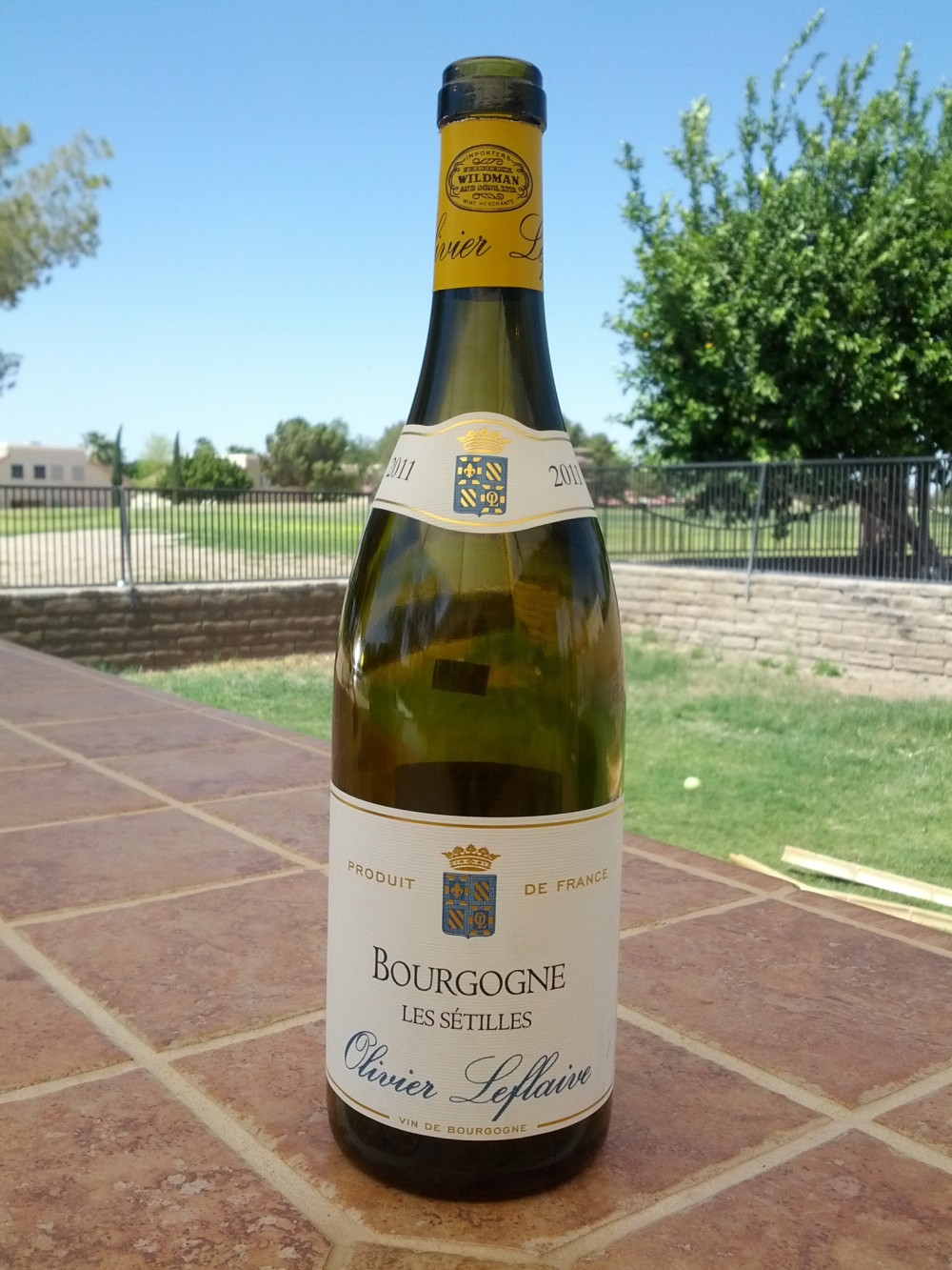 Domaine Olivier Leflaive Bourgogne Blanc Les Setilles 2011