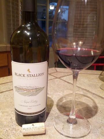 Black Stallion Napa Valley Cabernet Sauvignon 2011
