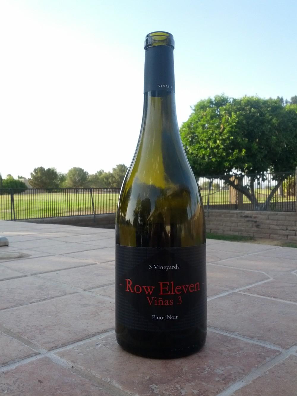 Row Eleven Vinas 3 Pinot Noir Vintage 2009