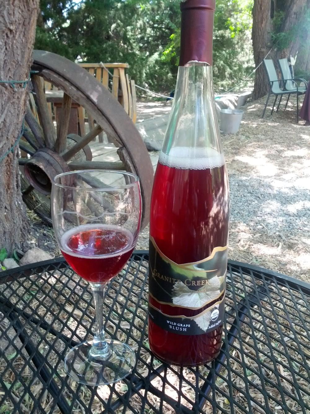 Prescott Arizona Winery Wine Tasting – Granite Creek Vineyards