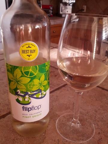 Flip Flop 2013 California Pinot Grigio