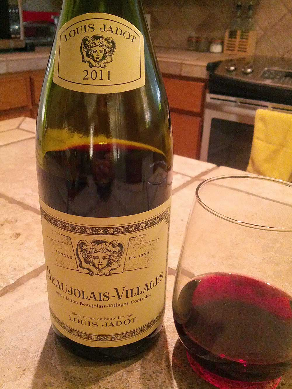 Louis Jadot Beaujolais-Villages 2011 - sowiwi