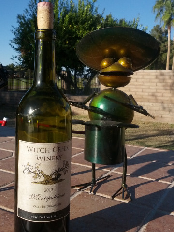 Witch Creek Winery 2012 Montepulciano